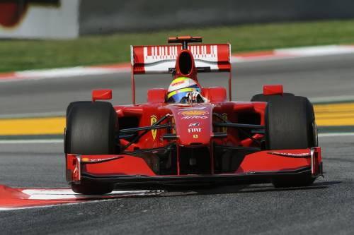 Fernando Alonso, piloto de Ferrari en 2010