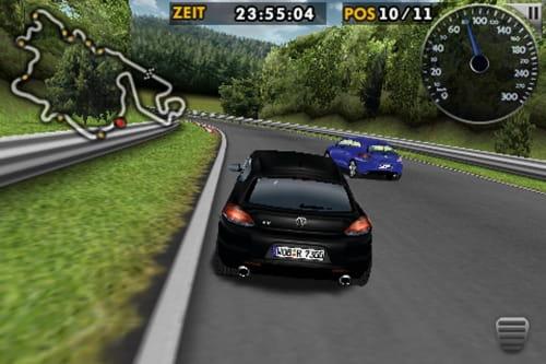 VW Scirocco R Challenge iPhone