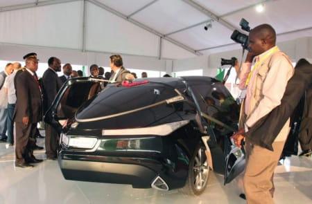 The Rocket, el prototipo diseñado por Gaddafi