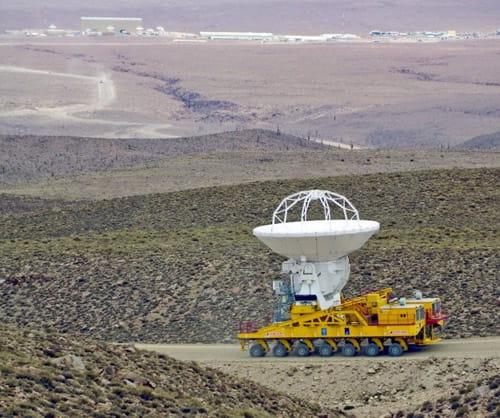 El megatransporte de las antenas de ALMA