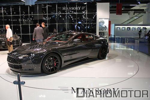 Aston Martin DB9 Mansory Cyrus en Frankfurt 2009