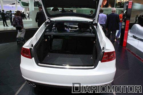 Audi A5 Sportback y S5 Sportback en Frankfurt 2009