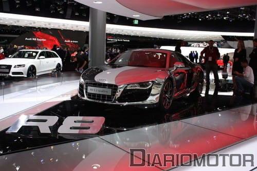 Audi R8 en Frankfurt