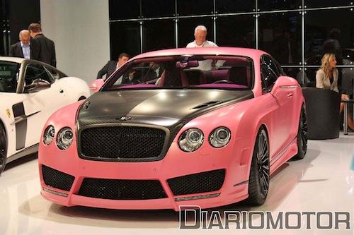 Las otras joyitas de Mansory en Frankfurt 2009: Bentley Continental GT Vitesse Rose