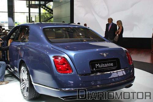 Bentley Mulsanne, superlujo y potencia en Frankfurt 2009