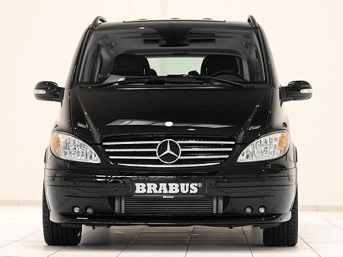 Brabus Mercedes Viano Business Ligth Concept