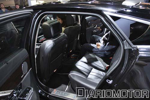 Jaguar XJ en Frankfurt