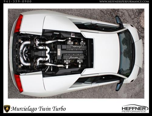 Lamborghini Murciélago Biturbo de 1.100 CV por Heffner