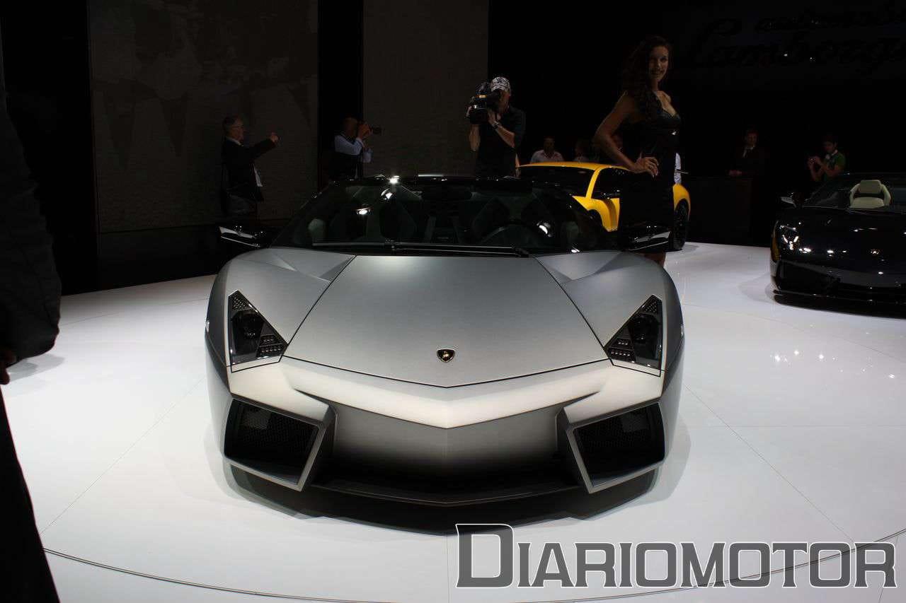 Galería Un avión en Frankfurt 2009: Lamborghini Reventón Roadster
