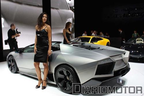 Lamborghini Reventón Roadster en Frankfurt 2009
