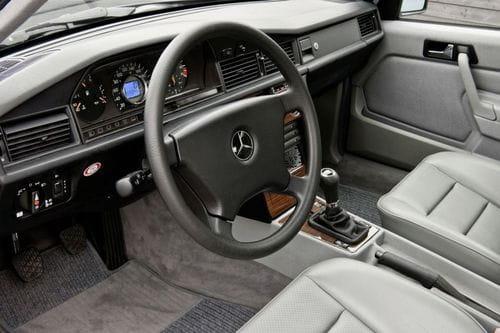 Regreso al futuro: Mercedes 190 D BlueEFFICIENCY