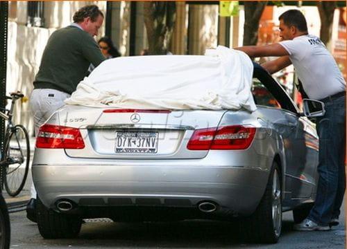Mercedes Clase E Cabrio, cazado al desnudo en el rodaje de