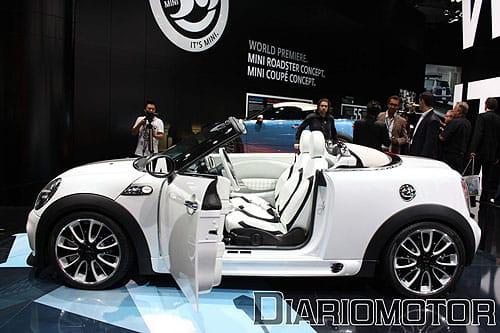 Mini Coupé Concept y Mini Roadster Concept en Frankfurt 2009