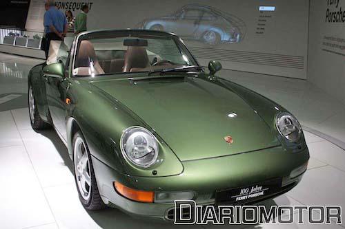 Exposición 100 Años de Ferry Porsche en el Porsche Museum de Stuttgart: 911 3.6 Carrera Cabrio