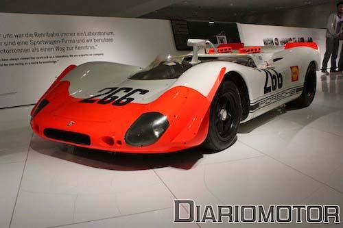 Exposición 100 Años de Ferry Porsche en el Porsche Museum de Stuttgart: 902/02 Spyder
