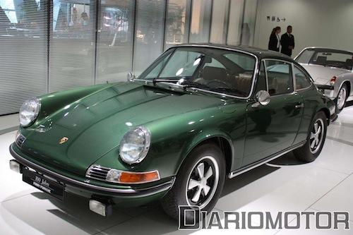 Exposición 100 Años de Ferry Porsche en el Porsche Museum de Stuttgart: 911 E 2.4 Coupé Dorothea