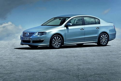 Ofensiva Volkswagen Bluemotion en Frankfurt: Polo, Golf y Passat