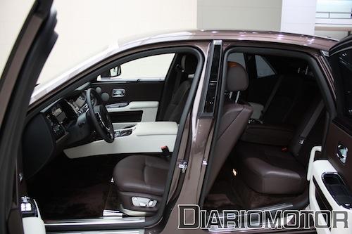 Rolls-Royce Ghost en Frankfurt 2009