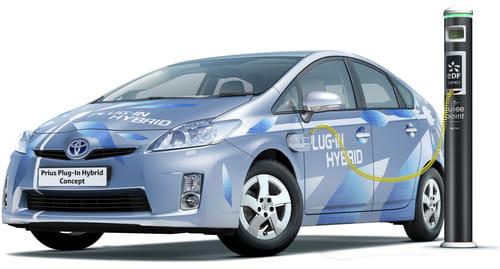 Toyota Auris HSD Concept, novedades híbridas en Frankfurt