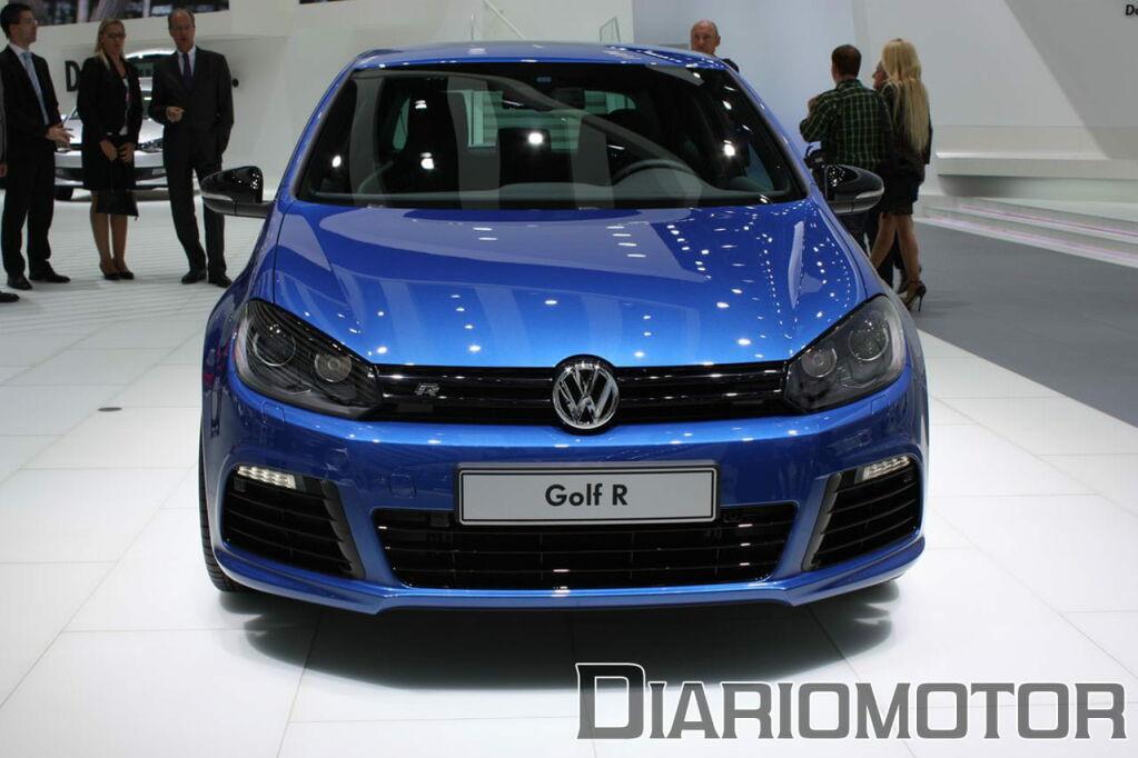 Galería Volkswagen Golf R y Scirocco R en Frankfurt 2009
