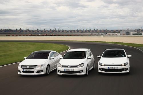 Volkswagen Golf, Scirocco y Passat CC R-Line
