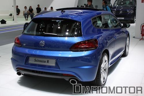 Volkswagen Scirocco R en Frankfurt 2009