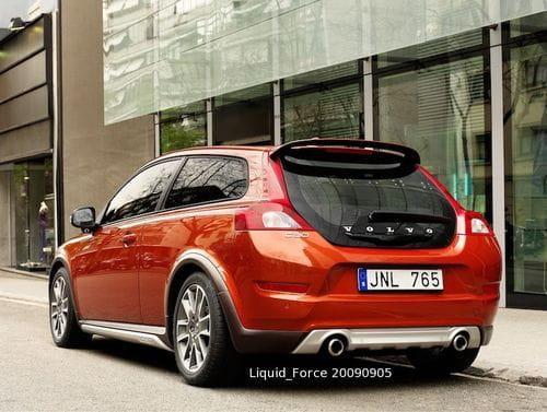 Volvo C30, imágenes filtradas del lavado de cara