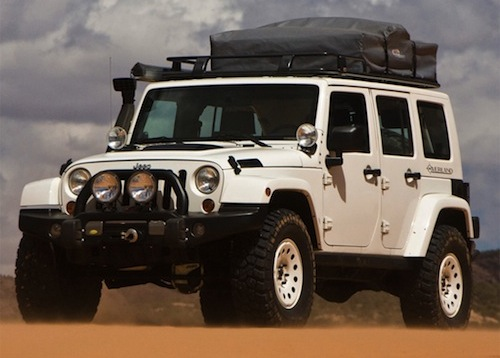 Jeep Wrangler Overland Image Vehicle