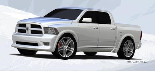 Dodge RAM Bianco