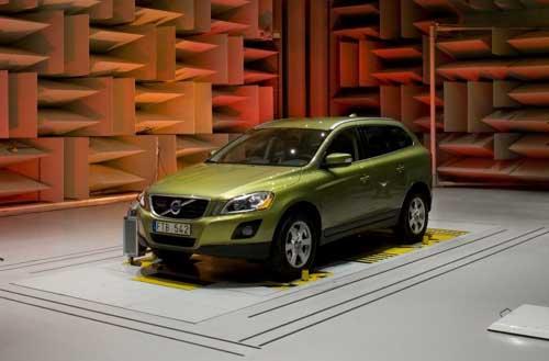 Laboratorio acústico Volvo