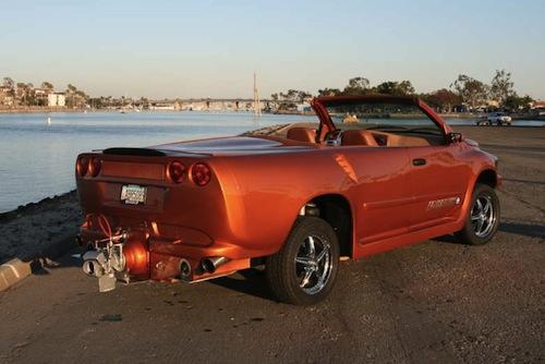 Watercar Python, la respuesta a si de un Corvette puede nacer un anfibio