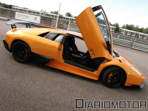 Mini prueba del Lamborghini Murciélago LP670-4 SV