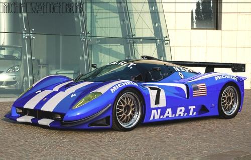 Ferrari P4/5 Competizione, recreaciones de Michiel Van Den Brink
