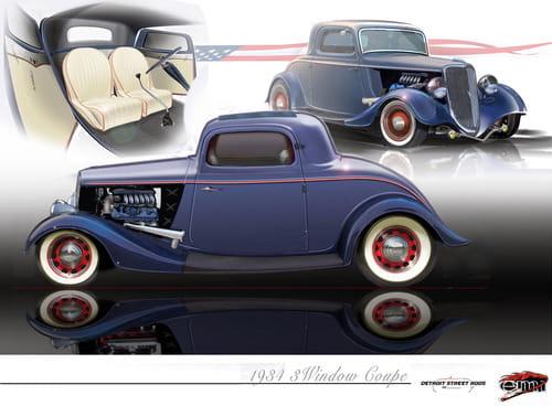 Hot Rod '34 de Ford con EcoBoost