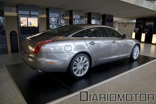 Jaguar XJ 2010, Presentación en Madrid