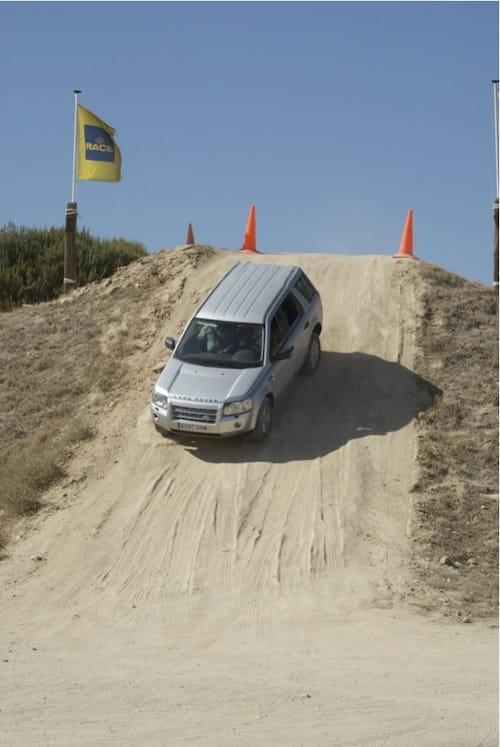 Land Rover Experience en el Jarama