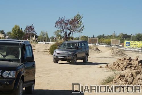 Land Rover Experience en el circuito del Jarama