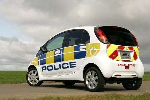Mitsubishi i-MiEV policial