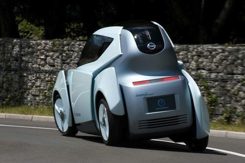 Nissan Land Glider Concept, mezcla urbana entre moto y coche