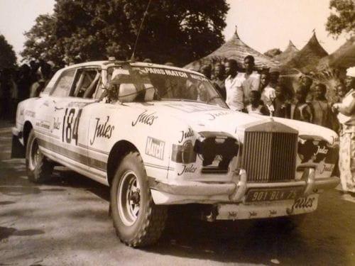 Rolls-Royce Corniche Jules, a la venta un veterano del París-Dakar