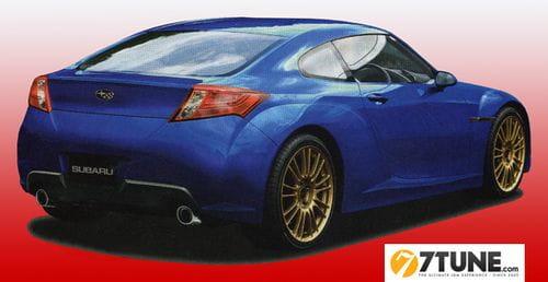 Algunos detalles sobre el futuro Subaru 216A