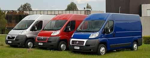 vehículos comerciales