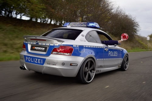 BMW 123d Coupé Polizei, por AC Schnitzer
