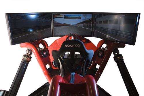 Simulador de conducción Cruden Hexatech