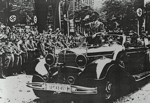 El Mercedes Benz 770 K de Adolf Hitler
