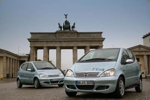 Daimler coches de hidrógeno para 2015