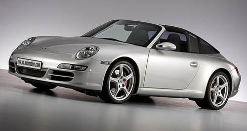 Porsche 911 con techo Targa de GTN Automotive