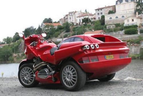 Snaefell, la mezcla entre coche y moto