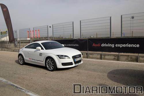 Audi TT y Audi A5 en circuito