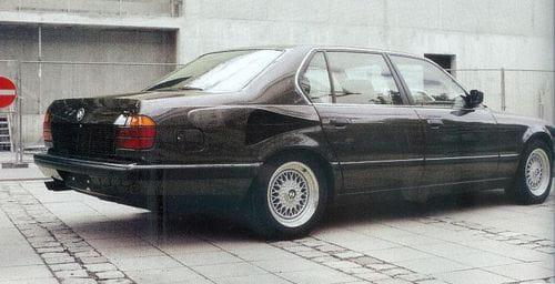 BMW 767iL, 16 cilindros para un Serie 7 único